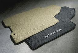 2010-2013 Nissan Armada Carpeted Floor Mats with 2nd Row Con