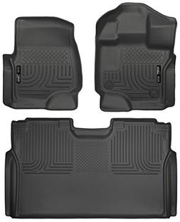 Husky Liners 2015-2017 Ford F-150 Floor Liners Full Set  Fit