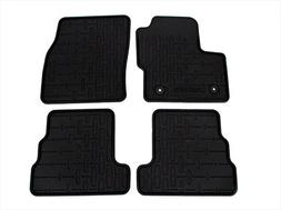 2015 Lincoln MKC All Weather Rubber Floor Mats Black Front &