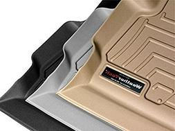 WeatherTech 4469712 Front and Rear Floor Liner, Black