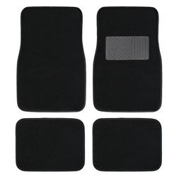 Copap 4pcs Full Set Carpet Floor Mats Universal Fit Mat for