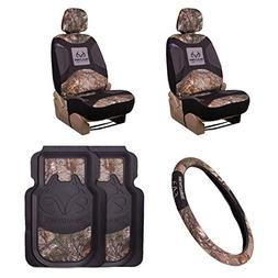 Realtree 5-Pc Camo Auto Accessories Kit | Realtree Xtra Camo