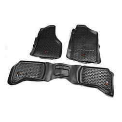 Rugged Ridge 82989.40 All Terrain; Floor Liner; First And Se