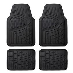 FH Group F11311BLACK Rubber Floor Mat