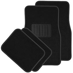 OxGord 4pc Full Set Carpet Floor Mats, Universal Fit Mat for