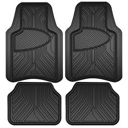 Custom Accessories Armor All 78846 Black Rubber Interior Flo