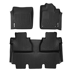 MAXLINER Custom Fit Floor Mat Complete Set for Select Toyota