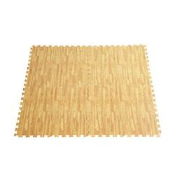 48 Sq Ft EVA Foam Floor Interlocking Mat Show Floor Gym Mat
