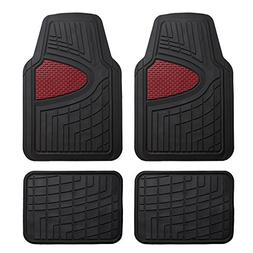 FH Group F11311BURGUNDY Rubber Floor Mat