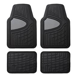 FH Group F11311GRAYBLACK Rubber Floor Mat