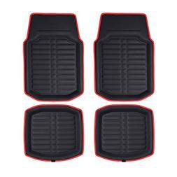 fh f14409 3d faux leather floor liners