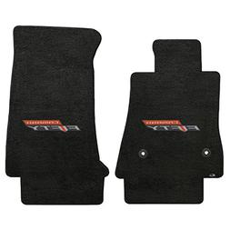 Fits CAMARO 2017 Custom Fit 2 PC Floor Mats EBONY VELOURTEX