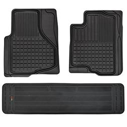 Motor Trend FlexTough Custom Liners Heavy Duty Rubber Floor