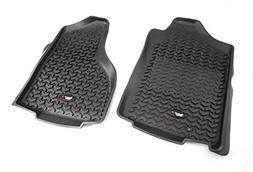 Floor Liners, Front, Black; 02-11 Dodge Ram 1500/2500/3500