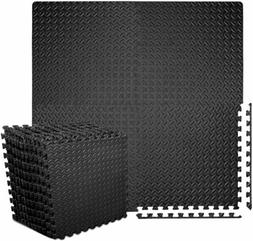 Floor Tile Puzzle Mat Workout Gym Fitness Yoga Exercise Inte