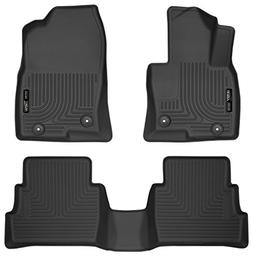 Husky Liners Front & 2nd Seat Floor Liners Fits 17-18 Mazda