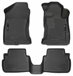 Husky Liners Front & 2nd Seat Floor Liners Fits 17-18 Imprez