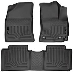 Husky Liners Front & 2nd Seat Floor Liners Fits 14-18 Coroll
