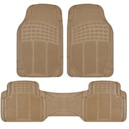 BDK Front and Back ProLiner Heavy Duty Rubber Floor Mats for