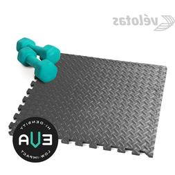 gray workout floor mats diamond plate pattern