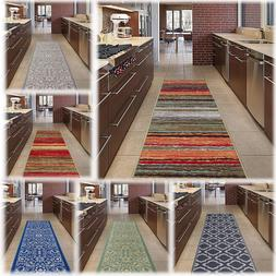 "Hallway Rug Runners 20x59"" Kitchen Area Carpet Non Slip Rubb"