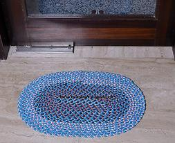 Indian Embroidered Cotton New Kitchen Mat Carpet Ethnic Door