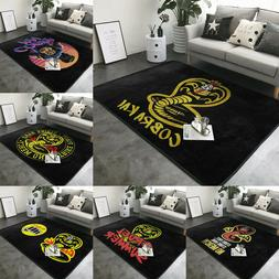 Karate Kid Cobra Kai Anti-Skid Area Rug Living Room Bedroom