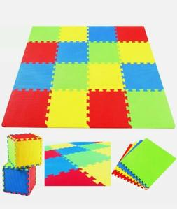 Kids Puzzle Exercise Play Mat with EVA Foam Interlocking Til