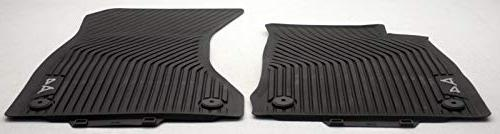 2017 a4 all weather floor mats front