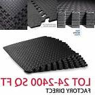 24~1200 SQFT EVA Foam Floor Mats Interlocking Exercise Gym H