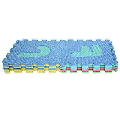 36 Pcs Colorful Numbers Mat Baby ABC Foam