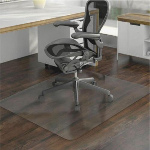 "36 x 48"" Hard Floor Home Office PVC Floor Mat Square for Off"