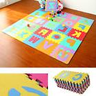 36pc Alphabet Numbers EVA Floor Play Mat Baby Room ABC Foam