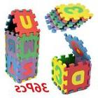 36pcs large alphabet numbers eva floor mat