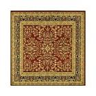 8 square floor persian oriental floral area