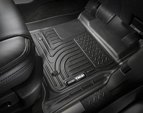 Husky Floor Liner; Black; pc. And pc.