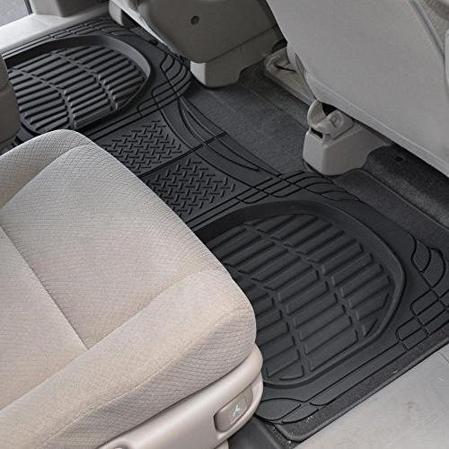 Passenger /& Rear Floor 2017 Chevrolet Tahoe Brown Driver 2016 GGBAILEY D51144-S2A-CH-BR Custom Fit Car Mats for 2015