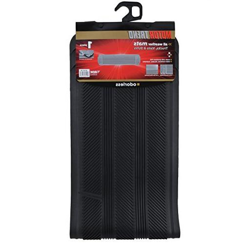 Rows Floor Mats for Van-Heavy Duty Full Interior-Black