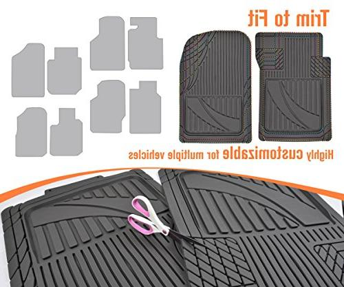 Advanced 4pc HD Mats for Auto Weather