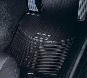 BMW All Weather Front Rubber Floor Mats 525 528 530 535 545