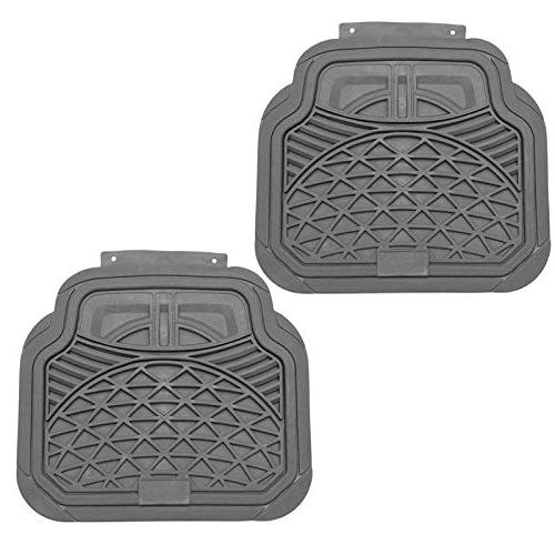 Motorup Auto Floor Mats All Rubber - Fits Select Car Truck Van Shell