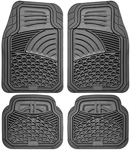 auto floor mats 4 piece set all