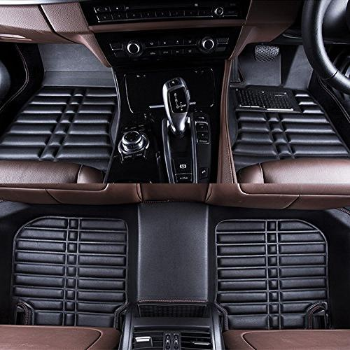 Big Car Mat Compatible 2007-2017 Leather Front&Rear Auto Weather Protector Piece
