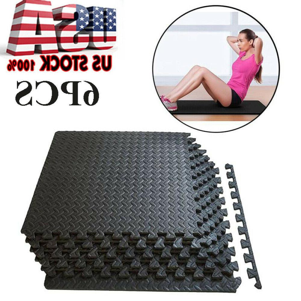 24sf exercise floor mat fitness puzzle rug