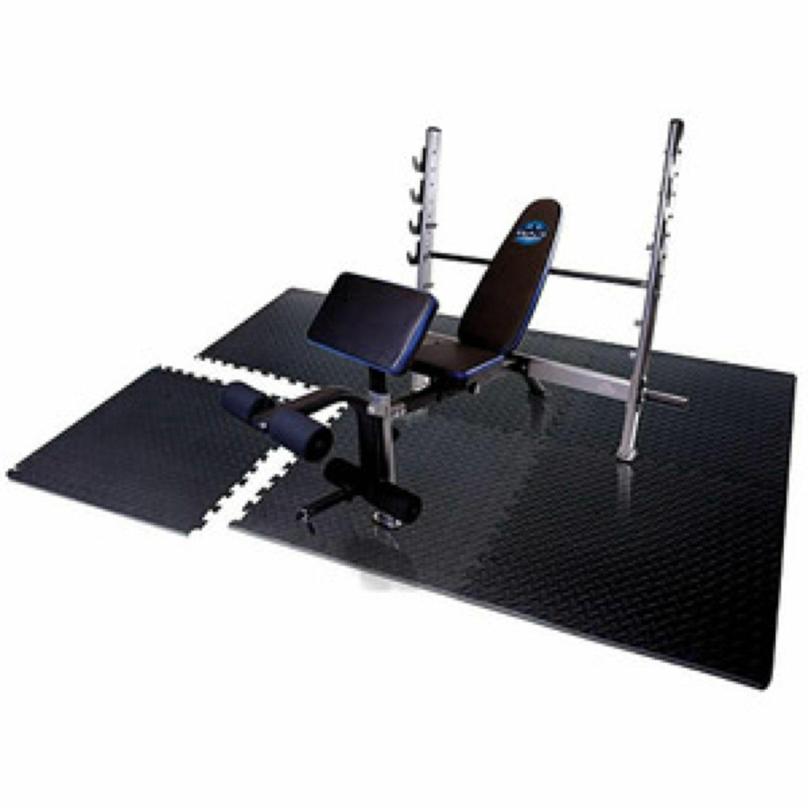 Exercise Flooring Tiles Puzzle Workout Equipment
