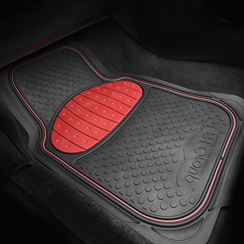 FH Group F11500RED Heavy Duty Rubber Mat