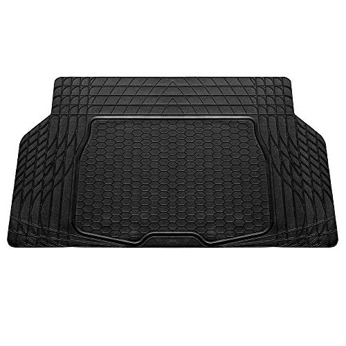 f16403black cargo mat fits most sedans coupes