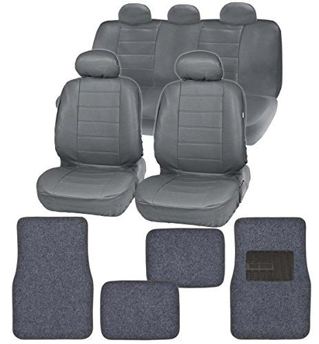 gift pack premium leatherette car seat covers