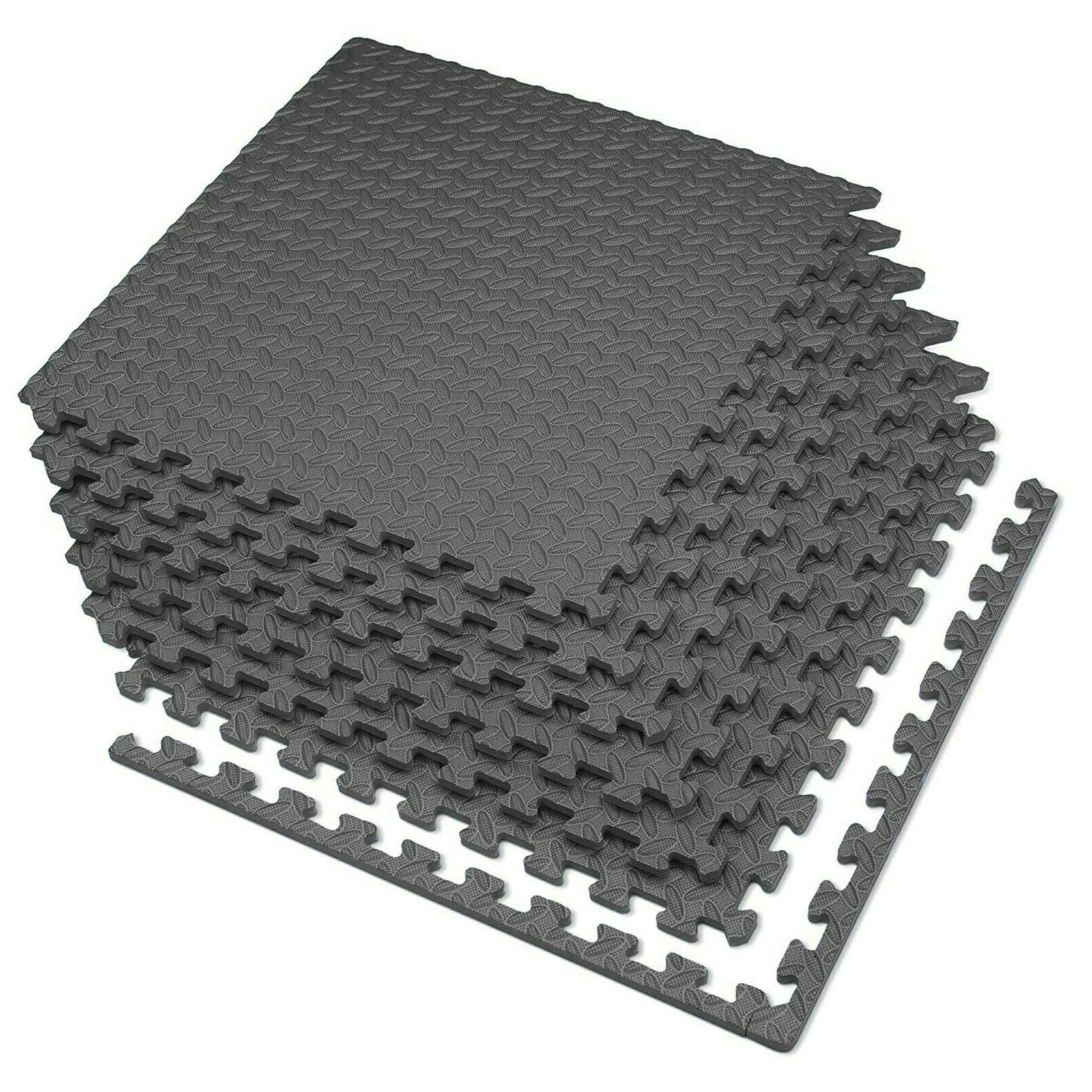 Gray Mats Diamond Plate Thick Anti-fatigue 24