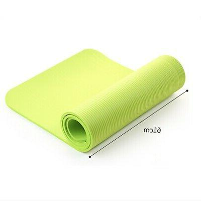 Large Thick Floor Exercise Mat Pilates FitnessNew